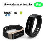 Bracelete esperto de Bluetooth 4.0 com lembrete Anti-Perdido (W6)