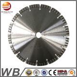 Diamantes soldada con láser Hoja de sierra circular para el corte de hormigón