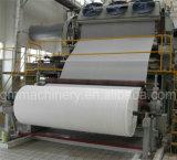 Máquina de la fabricación de papel de tejido de tocador, papel usado que recicla la maquinaria