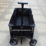 Heavy Duty Black Poly Folding Cart