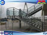 Escalera de Acero / Plataforma / Pasamano / Escaleras para Taller (FLM-SP-002)
