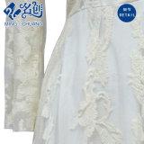 Платье втулки белой V-Шеи шнурка способа повелительниц длиннее