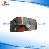 Hino P11c 11101-E0830 S11101-4302のためのエンジン部分のシリンダーヘッド