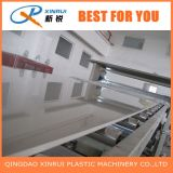 lámina de PVC de alta velocidad de la máquina extrusora de plástico