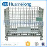 Het opvouwbare Vervaardigde die Netwerk van de Draad Containerr voor Opslag wordt gebruikt