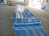 El material para techos acanalado del color de la fibra de vidrio del panel de FRP artesona W172086