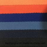 Tessuto conduttivo protettivo a prova di fuoco del franco del tessuto normale del poliestere del cotone 65% di 35%