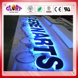 広告のためのバックリットのステンレス鋼LEDの文字の印