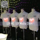 2014 Nouvelle conception EL T-shirt de la musique