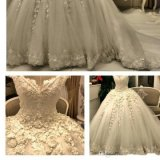 Sweetheart Lace Suite Ball Robes Puffy vestidos de casamento Z2049