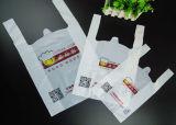 HDPE van 100% de Maagdelijke Plastic Zak Psb001 van de T-shirt