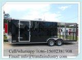 Novo 7X20 7 X 20 Concessionário fechado personalizado Alimentos Vending BBQ Trailer W / Porch