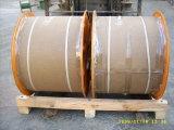 Folheados de cobre do fio de aço (CCS 0.81mm)