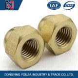 La norme DIN1587 Dôme hexagonale en acier inoxydable de l'écrou borgne en stock