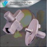 Précision personnalisé Argile Sable coulage en sable de base pour les pièces de machinerie