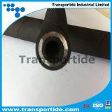 De Spiraalvormige DIN En856 Hydraulische RubberSlang 4sp/4sh van de draad