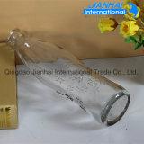 Qualitäts-Nahrungsmittelgrad-Saft-Flasche von der Glasfertigung