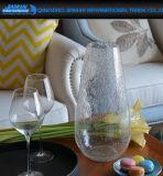 Vaso di vetro del fiore della cristalleria della decorazione di bellezza