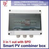 Строки солнечной энергии разъему распределительной коробки 3 входной строки с предохранителем и защиты от перенапряжения