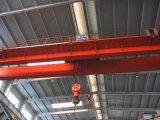 Gru a ponte personalizzata della singola dell'amo di disegno del doppio gru elettrica del fascio