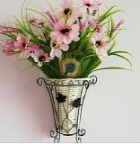 Titulaire de la Fleur de saule, panier de fleurs (CK11071)