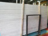 &Tiles de mármore de madeira brancos das lajes para a coberta da parede & de assoalho, branco do Chenille, carvalho branco, Serpeggiante branco, Veins&Grain de madeira branco, China Serpeggiante, Georgette de seda
