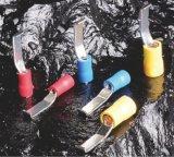 Tipo terminal labiado pre isolado de Lbv da lâmina do PVC