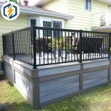 Frontière de sécurité en aluminium enduite d'arrière-cour de frontière de sécurité de jardin de frontière de sécurité de poudre