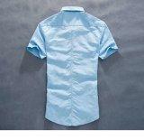 2017 chemises courtes neuves de chemise de Patetrn de qualité