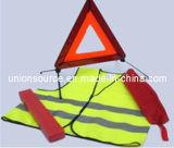 Triangolo del riflettore/riflettore d'avvertimento che avverte il kit di sicurezza di Triangle/Car