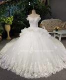 A Esfera Aoliweiya Beca Sweetheart Ruffles Cintura vestidos de casamento