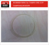 Ink Cup Ring Anillo Anillo de carburo de tungsteno