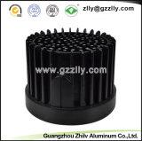 CNC que trabaja a máquina para el radiador/el disipador de calor de aluminio de la Redondo-Dimensión de una variable