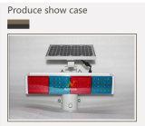 Новый дешевый светосигнализатор пластмассы СИД безопасности дороги красный голубой солнечный