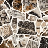 Mattonelle di pavimento di ceramica del getto di inchiostro rustico del Matt del materiale da costruzione