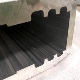 Extrusion/grand profil en aluminium expulsé avec des cannelures à l'intérieur