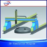 CNC van het Type van Brug Kr-Fy Plasma en Oxyfuel die Machine Beveling snijden