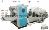 Automatischer Kasten-Abschminktuch, das Maschine konvertiert