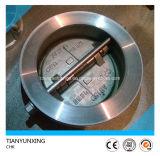 Valvola di ritenuta doppia della farfalla della cialda del disco dell'acciaio inossidabile dell'ANSI