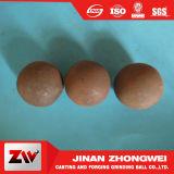bola de acero de pulido forjada dureza Wear-Resistant B3 de 90mm-150m m alta para la explotación minera
