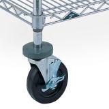 Самоустанавливающееся колесо для металлических стеллажей провода (провод шельфа аксессуар)
