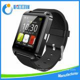 Ver teléfono Bluetooth cámara de vigilancia inteligente Ver reloj de pulsera con la cámara, tarjeta SIM