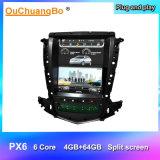 Autoradio verticale dello schermo di stile di Ouchuangbo Px6 Tesla GPS per Cadillac Srx 2009-2012 con la memoria 6