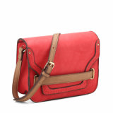 2016 Trendy Plug-in Front Belt Flap Crossbody Bag (MBNO040110)
