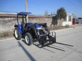 2016 bildete heißer Verkauf China Bauernhof-Traktor-Vorderseite-Ladevorrichtung 4 der Qualitäts-30-75HP 4X4 4WD in 1 Wannen-niedrigerem Preis