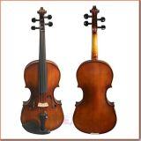 Violino Handmade del violino di colore del caffè del compagno