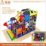 Campo de jogos interno macio Equitmentt das crianças para os miúdos prées-escolar
