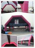 Barraca de campo inflável gigante ao ar livre de Paintball do esporte