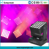 25pcsx15W RGBW LED Stadiums-Wäsche-Beleuchtung-Matrix-Summen-beweglicher Kopf