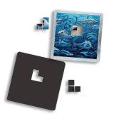Magnete di marchio del cliente del regalo di promozione di puzzle del magnete del frigorifero